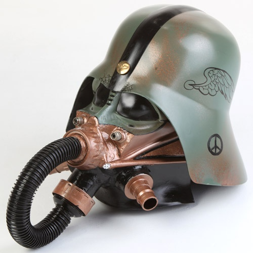 If It's Hip, It's Here: 24 Artist-Embellished Darth Vader Helmets Up For Auction Starting February 7th.