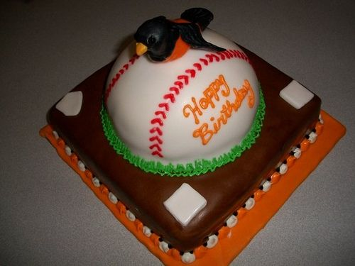 29 best Baltimore Orioles Cakes images on Pinterest Birthday