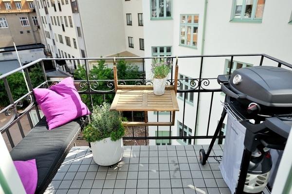 Mesas plegables para terrazas peque as o balcones for Terrazas pequenas ikea