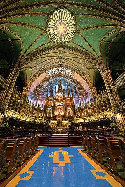 Notre Dame, Montreal, Canada.
