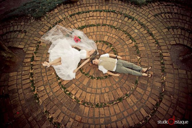 Trash the dress Jaqueline e Gabriel