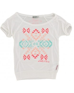 Tumble n Dry - T-shirt wijd wit €15,95