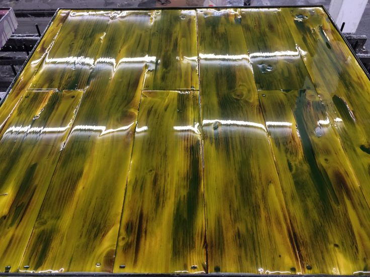 70 X 70 Tabletop Finished With New Color Line 2015 By C