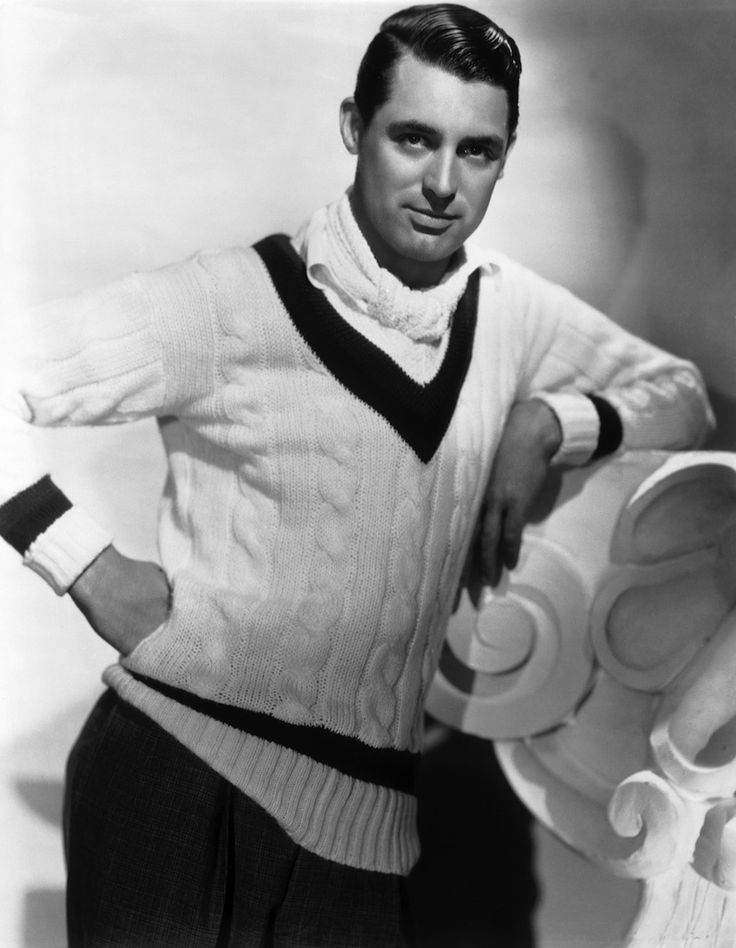 Perfect Cricket Sweater - Cary grant