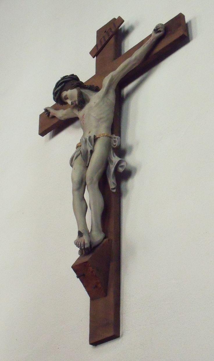 A cross in a church, Delft