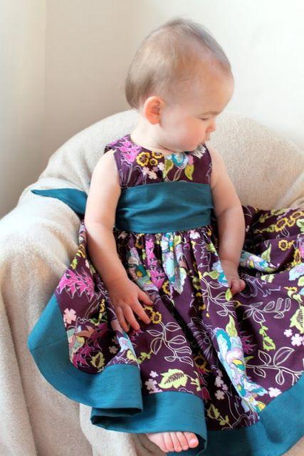 Нарядное платье для девочки. Мастер-класс + выкройка. Обсуждение на LiveInternet - Российский Сервис Онлайн-Дневников