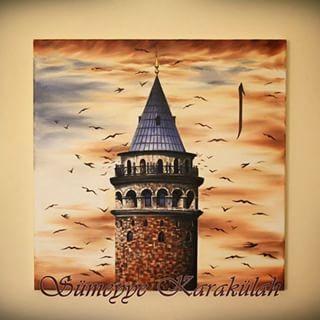 Sen benim durup durup saplandığım #cahitzarifoğlu #Galatakulesi#galata#art#sanat#tablo#yağlıboya#oilpaiting#oilcolour#paiting#çizim#drawing#turkey#muslim#istanbul#galatatower#instaartist#sipariş#tablo