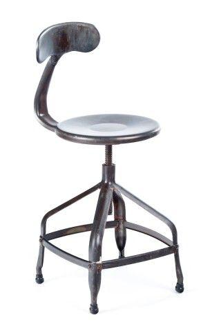 delilah stool espresso wash