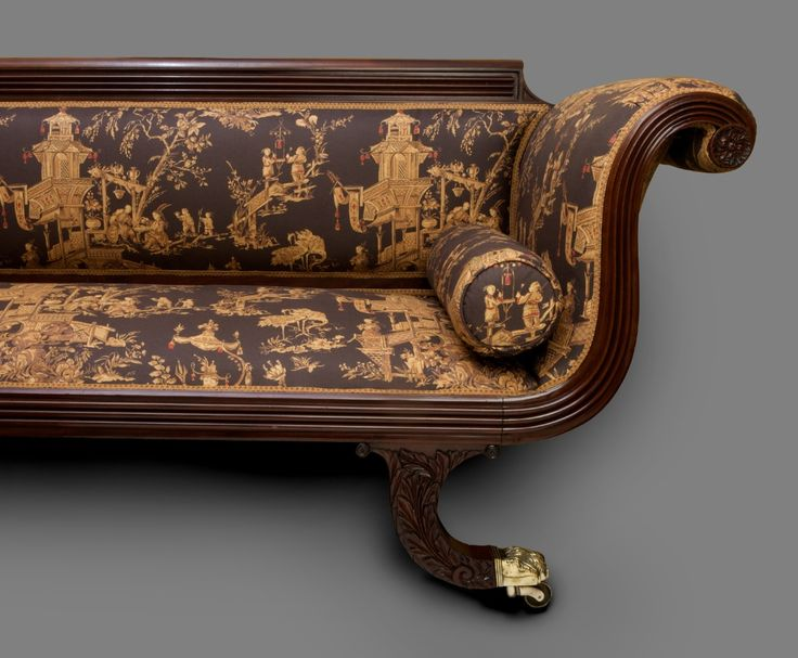 'Grecian' sofa, attributed to Baltimore, Maryland cabinetmaker Edward  Priestley Image: Aileen Minor Antiques. - 11 Best 19th Century Baltimore Furniture Images On Pinterest