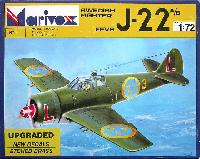 The FFVS J 22 was a Swedish single-engine fighter aircraft developed for the Swedish Air Force during World War II.