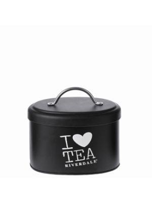 Opbergbus Love Black Tea 17cm Riverdale