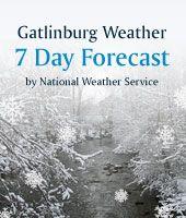 Gatlinburg Weather 7 Day Forecast