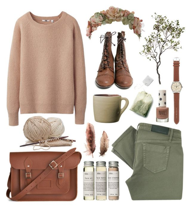 Sparrow by throwmeadream on Polyvore featuring Uniqlo, Victoria Beckham, The Cambridge Satchel Company, J.Crew, Her Curious Nature, Très Pure, Topshop, Toast, Crate and Barrel and Guide London
