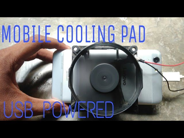 Smartphone Cooler You Can Make At Home March 2020 Diy Cooler