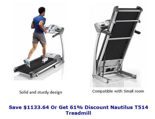 Nautilus Treadmill For Sale, Save $1133.64