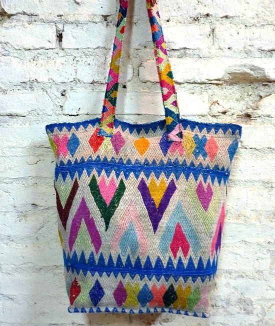 60s vintage Peruvian boho bag *SOLD*   £25.00   The Stellar Boutique   fashion shop   vintage clothing   boho clothing