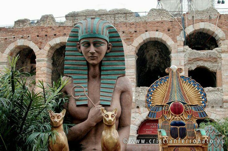 2014: un po' di #Egitto all' #Arena di #Verona #arenadiverona #veneto #italia #italy #volgoveneto #instaveneto #nofilter #500px #street