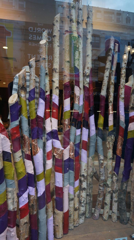 Window display at Anthropologie Regents Street