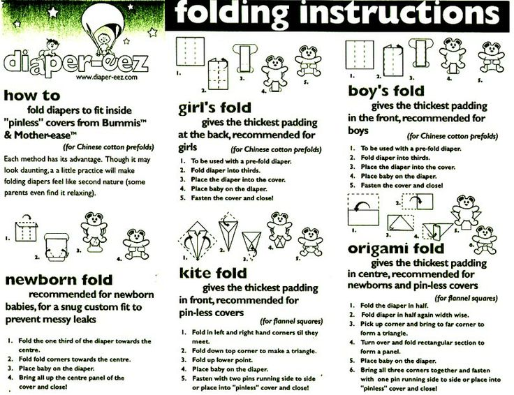 cloth diaper folding (other methods: http://www.swaddlebees.com/Products/Fitted-Diapers/flats, http://www.tinytush.com/how-to-fold-prefold-diapers.html, http://allaboutclothdiapers.com/a-different-way-to-fold-flat-cloth-diapers/)
