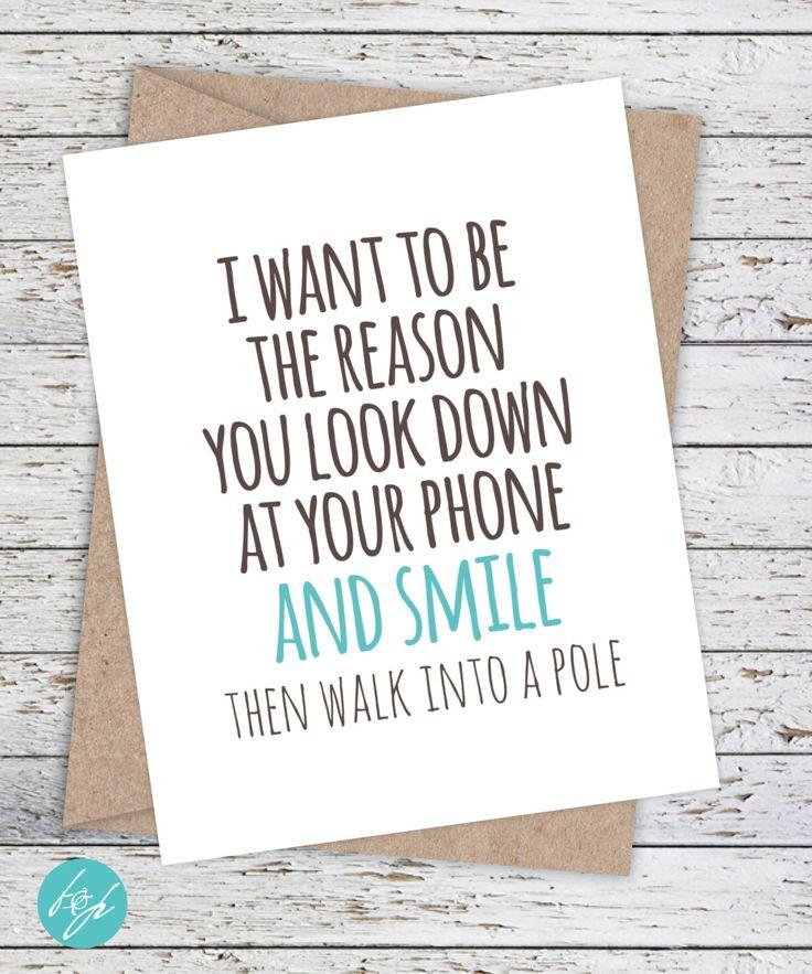 I Love You Card Boyfriend Card Awkward Card Snarky Card: Best 25+ Boyfriend Birthday Messages Ideas On Pinterest