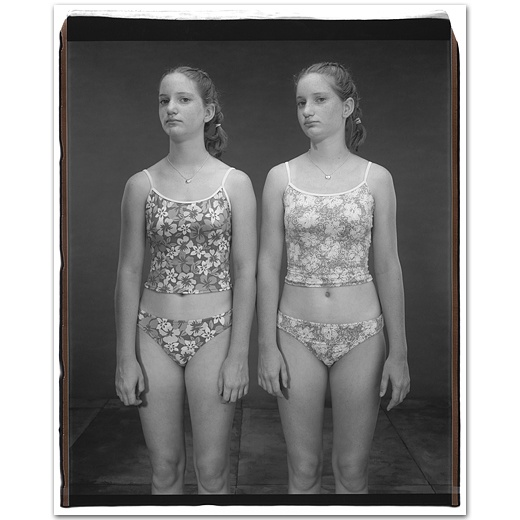 Jennifer and Emily Carp, 14 years old, Jennifer older by 50 minutes,  	Twinsburg, Ohio, 2002