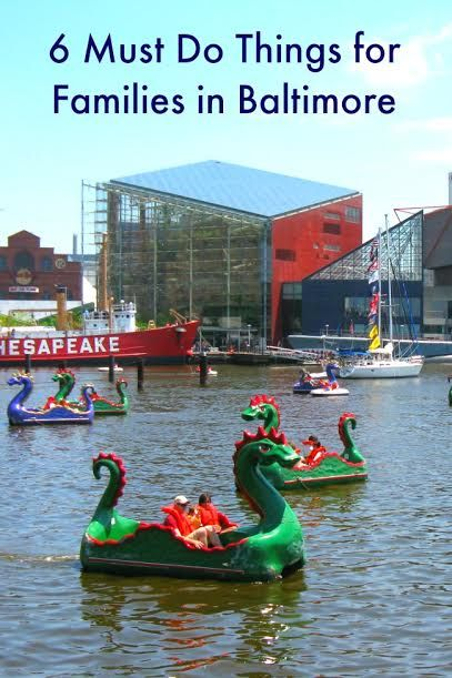 Top Places to Visit in Baltimore with Kids | Must visit attractions for families living or visiting the Baltimore Maryland area | Bambini Travel