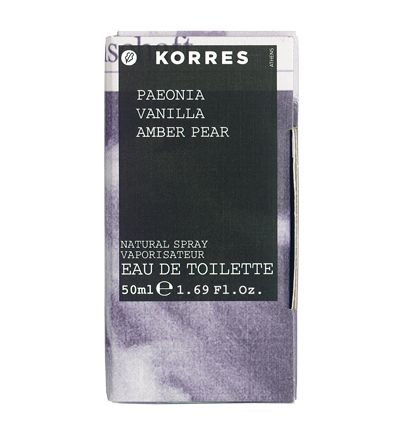 Paeonia Vanilla Amber Pear Fragrance For Her #korres_fragrance