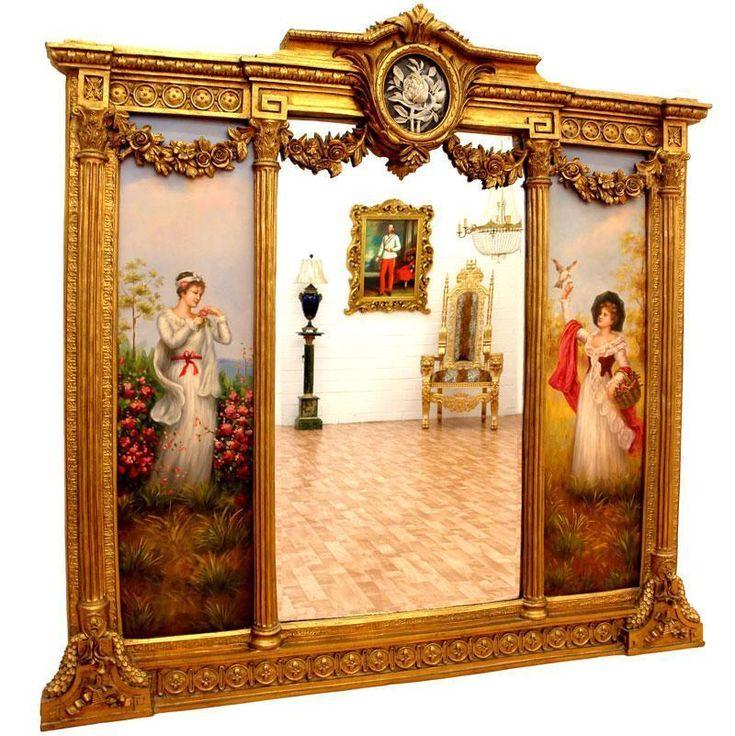 Les 25 meilleures id es concernant miroir baroque sur - Miroir sur pied baroque ...