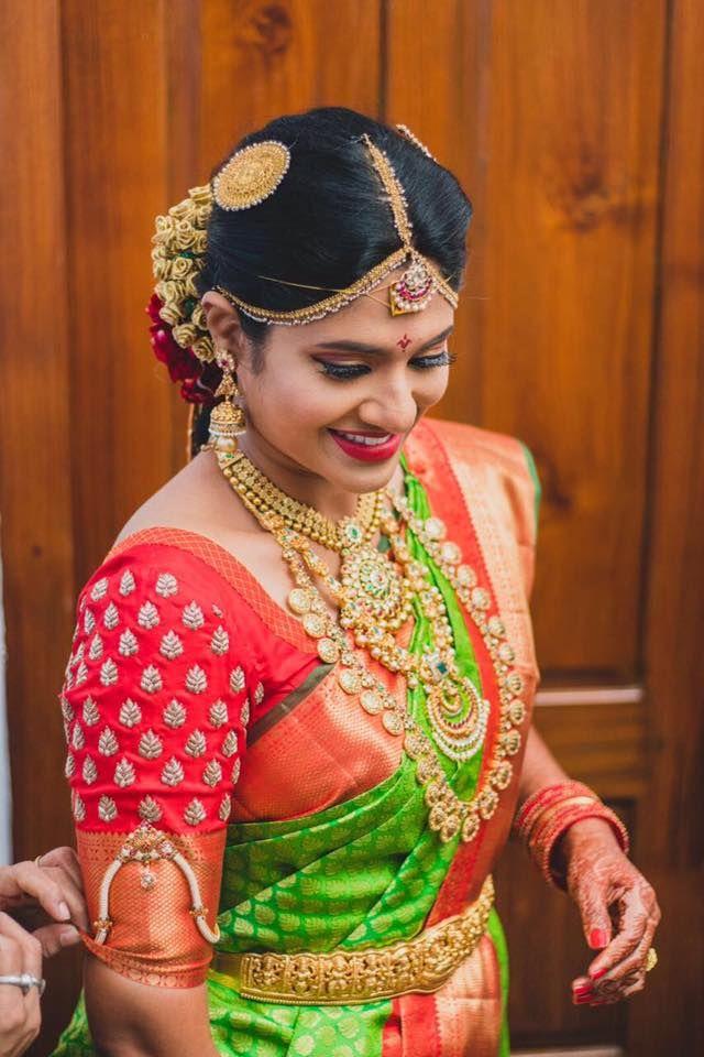 1198 best Pattu sarees with beautiful blouse patterns ...