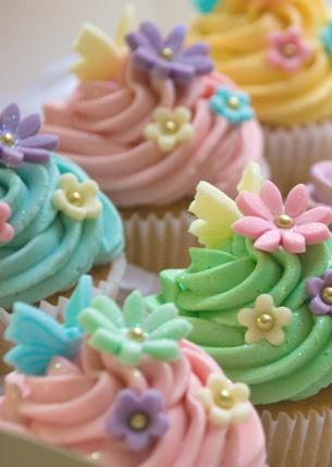 Spring cupcakes <3
