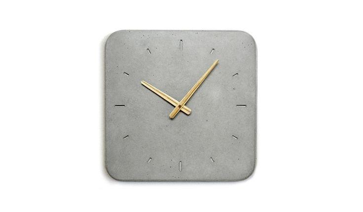 Concrete Wall Clock — Sascha Czerny