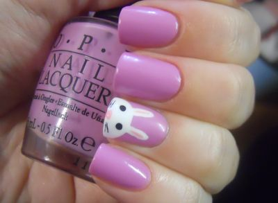 Holy Manicures: Bunny Nails.