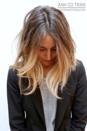 long ombre bob by greyish