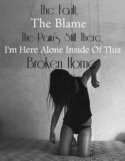What is a broken home?