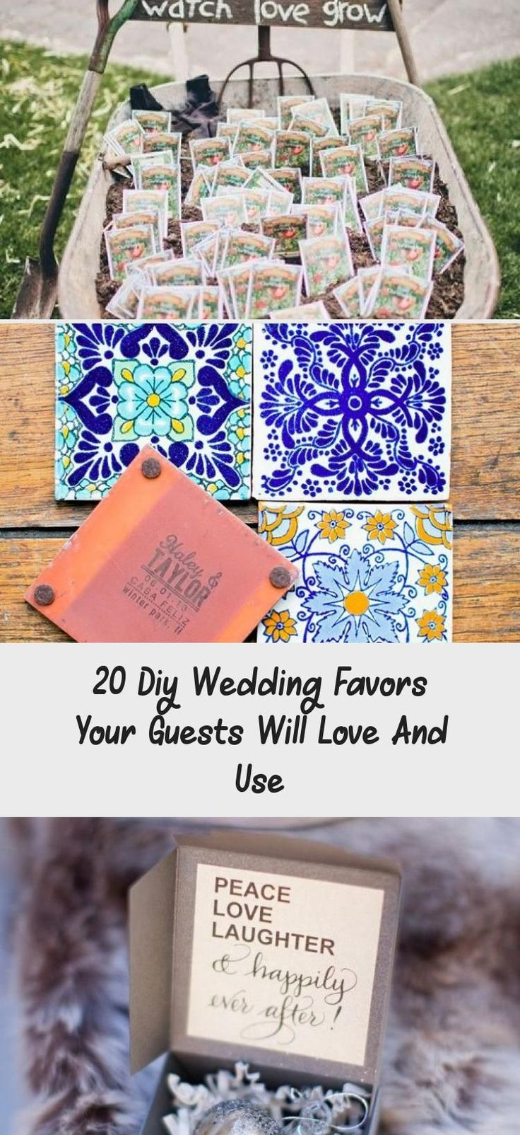 20 Diy Wedding Favors Your Guests Will Love And Use - Pinokyo#diy #favors #guests #love #pinokyo #wedding