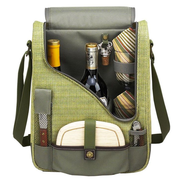 Picnic At Ascot Hamptons Pinot Wine and Cheese Picnic Cooler for 2 - 434-H