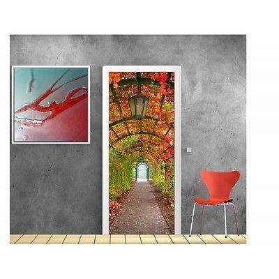 Affiche-poster-porte-deco-Jardin-802-Art-deco-Stickers