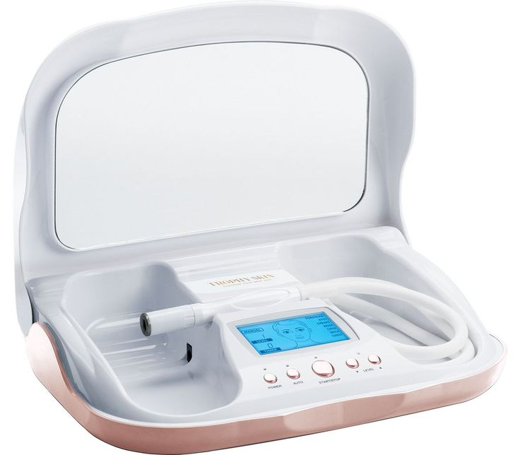 Microdermabrasion machine for home use