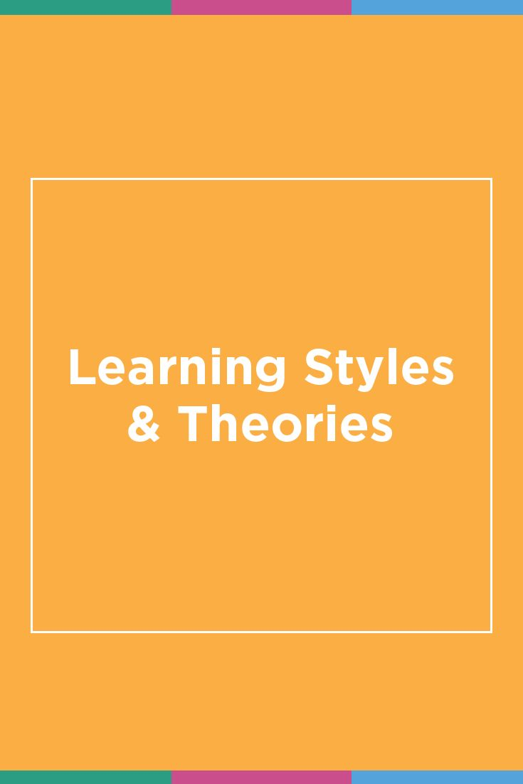 No learner is one-size-fits all! We're sharing our favorite learning theories and learning styles for adult learners. Different learning styles and educational theories for different learning needs. Perfect for learning and development inspiration!