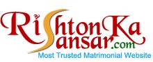 Rishtonkasansar.com, one of the India's successful online matrimony service, to help the India's community to find their soulmates. It is one of the fastest growing portals, and creating successful marriages.Today, many of people have met their life partners through our matchmaking service.Now Rishton Ka Sansar includes top 10 matrimonial sites in India .