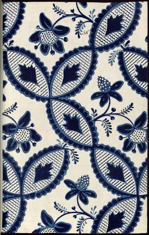 Fleurs, feuilles - référence n° 56 | Centre de documentation des musées - Les Arts Décoratifs