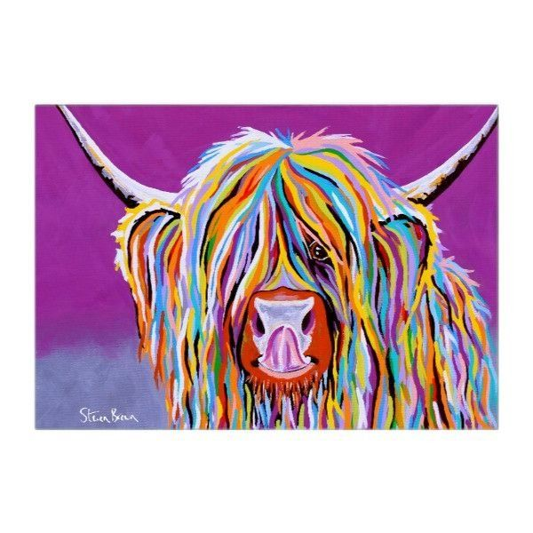 Betty McCoo - Artwork Designed Glass Chopping Board - Steven Brown Art