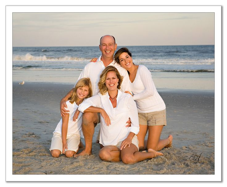 family beach picture - Google Search