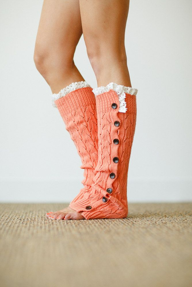 Christmas!  Etsy!! Women's+Knitted+Leg+Warmer+or+Boot+Topper+with+by+ThreeBirdNest,+$38.00