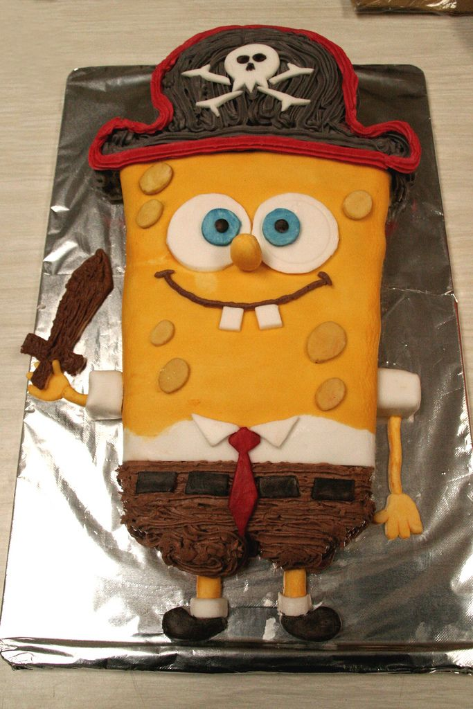 The Best Home Made Sponge Bob Cake in The World Ever | Flickr