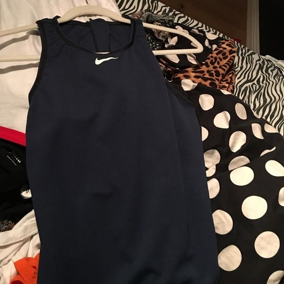 Water polo suit/ swim suit I've used it once for water polo practice too big for me perfect condition willing to go lower these water polo suits are 50$ Nike Swim One Pieces