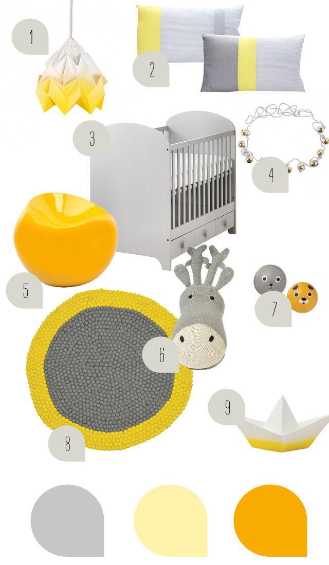 die besten 25 grau gelbe kinderzimmer ideen auf pinterest babyzimmer chevron kinderzimmer. Black Bedroom Furniture Sets. Home Design Ideas