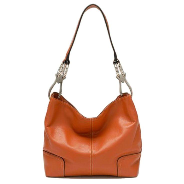 Tosca Classic Medium Shoulder Handbag Style 640 (Black): Handbags: Amazon.com