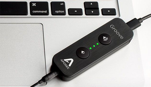 When it was announced back in January, Apogee promised to deliver its Groove USB headphone amp and digital-to-analong converter (DAC) this spring. Well,