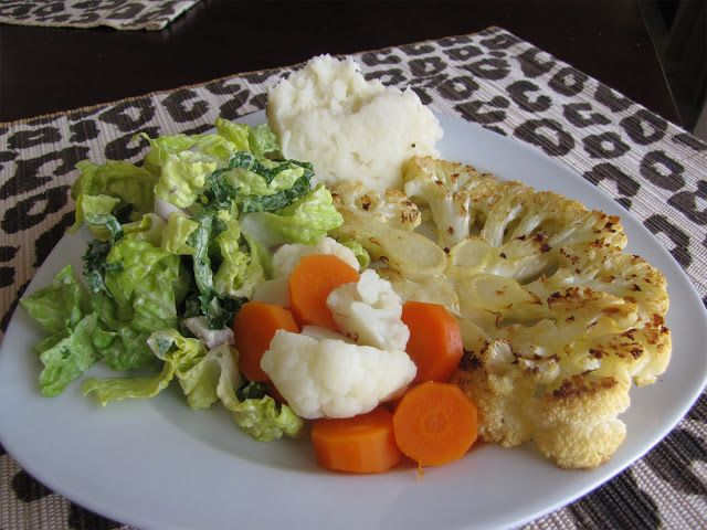 The Snarky Chickpea: Cauliflower Steaks